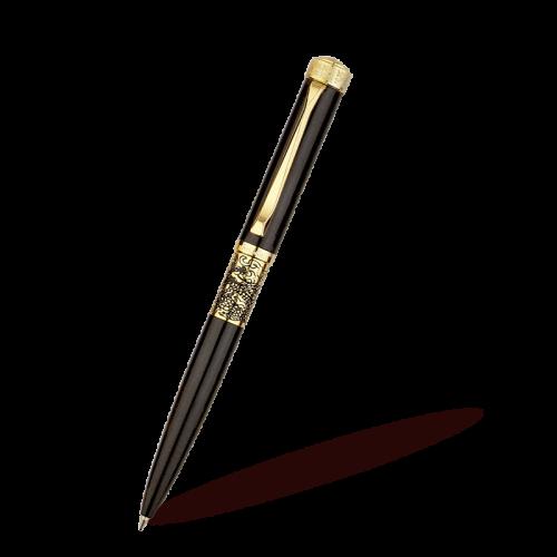 כדורי שחור מבריק עם עטורי זהב 35-200B