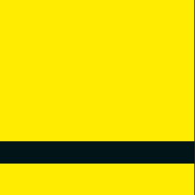 פלטת חריתה צהוב / שחור