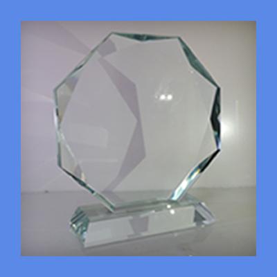 זכוכית לחריתה- עיגול פאזות -  CA123